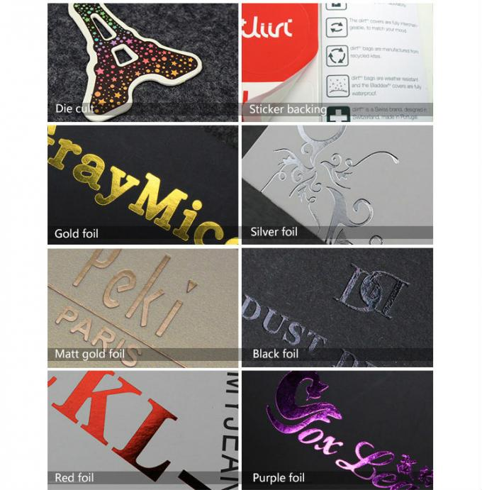 Multi Color Custom Clothing Hang Tags Labels For T Shirt / Pants / Dress