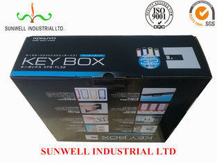 China Multi Color Custom Printed Corrugated Boxes , Glossy Finish Recycled Packaging Boxes supplier