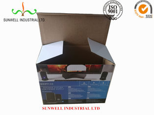 China K9 Reinforced Electronics Product Packaging Boxes Spot UV Finished Varnish Film supplier