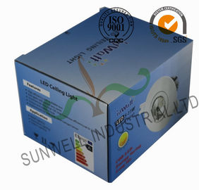 China Electronic LED Ceiling Light Bulb Packaging Boxes , Consumer Electronics Packaging supplier