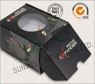 China Black Custom Printed Corrugated Packaging Boxes For Elegant Watch / Electronics supplier