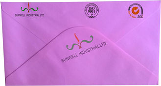 China Recyclable Custom Self Seal Envelopes , Offset Paper Custom Embossed Envelopes supplier