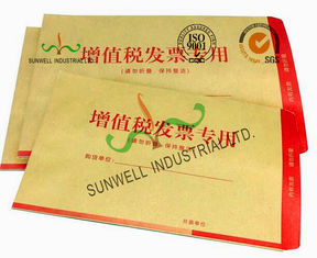 China Glossy Finish Custom Printed Envelopes , Personalized Business Envelopes supplier