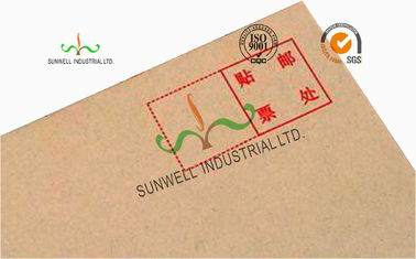 China Pre Printed Return Address Custom Printed Envelopes With Normal Printing Finishing supplier