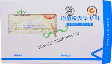 China Business Mailing Custom Printed Visual Window Envelopes With Peel Self Seal supplier
