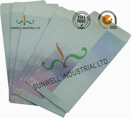 China Kapok Flowers Custom Printed Envelopes , Custom Printed Shipping Envelopes supplier