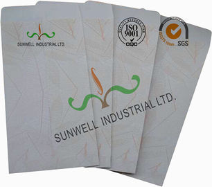 China White Color Custom Printed Mailing Envelopes , Personalized Mailing Envelopes supplier