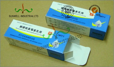 China Spot UV Coating Insulated Cardboard Packaging Boxes For Pharmaceutical / Medicine supplier