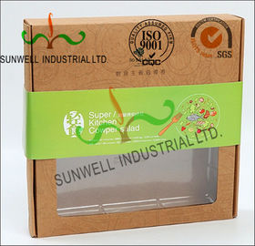 China Rigid Kraft Paper Cardboard Food Packaging Boxes With Art Paper Wraped Finished supplier