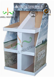 China Food Presentation Cardboard Display Stands , Cardboard Product Display Stands supplier