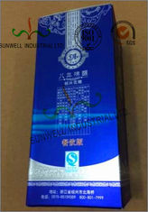China Multi Colored Custom Printed Corrugated Wine Packaging Box Glossy Lamination supplier