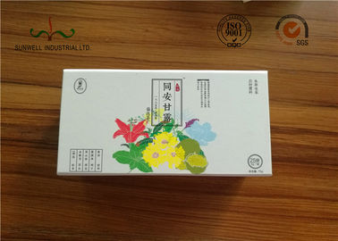 China Custom 157g Coated 2 Side CMYK Printing Handcrafted Gift Boxes With Lid supplier