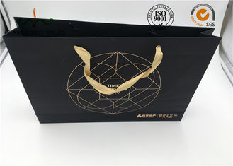 China Hand Length Handle Cardboard Shopping Bags Industrial Use FSC Certified supplier