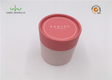 China Round Cylinder Paper Packaging Tube Box Christmas Gift For Promotional supplier