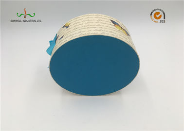 China Fancy  recyclable  Cardboard Cylinder Tubes For Tea , Candle , Wine supplier