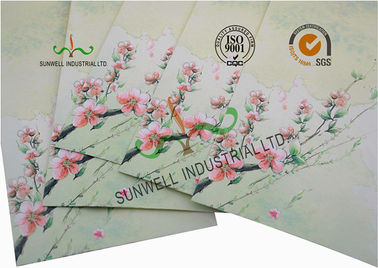 China OEM Custom Offering Printed Envelopes , Personalized Envelopes For Businesses factory