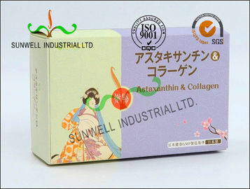 China Custom Made Cardboard Pharmaceutical Packaging Design Boxes Label Printing factory