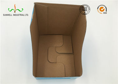 Recycled Kraft Paper With Art Paper Printed Gift Box, Baby cloth packaging box