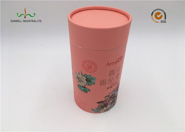Colorful Carboard Cylinder  packaging for wine ,soap bar ,etc.