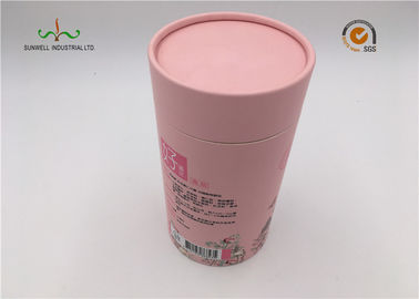 China Lovely pink color cardboard Tube for Samll gift , Jewelry , Skin care products etc. factory