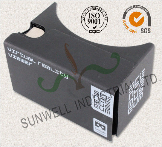 Rigid Electronic Paper Packaging Box , 3D Virtural Viewer Electronic Device Packaging