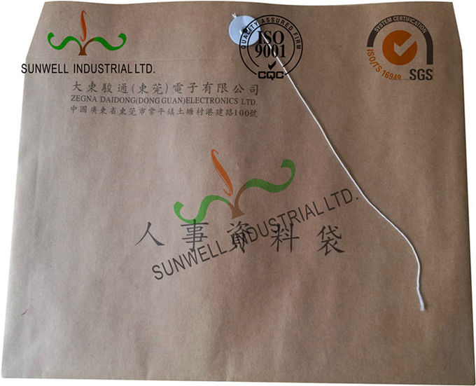 Handmade Custom Printed Envelopes With String Tie Closure Hot Stamping