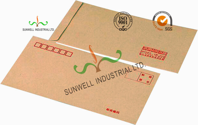 Pre Printed Return Address Custom Printed Envelopes With Normal Printing Finishing
