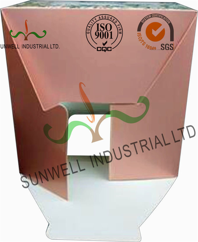 Recycled White Cardboard Cake Packaging Boxes With Lids Full CMYK Printing