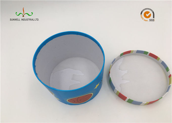 Color Paper Small Packaging Tubes Box , Round Tube Packaging With Logo Stock Available
