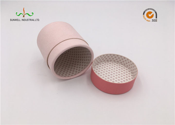 Round Cylinder Paper Packaging Tube Box Christmas Gift For Promotional