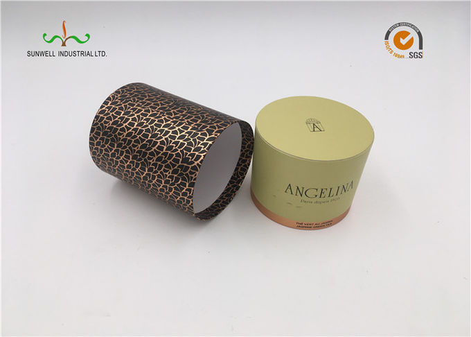 Durable Gift Paper Cardboard Cylinder Tubes , Recycleable Small Diameter Cardboard Tubes