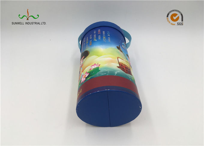 Multi - Functional Cardboard Cylinder Tubes Decorative Cardboard Boxes