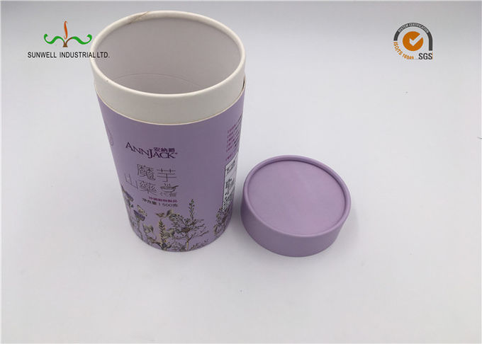 Recyclable and Biodegradable Cardboard Paper Round Tubes for food ,comestic ,pefume and wine bottles